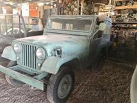 JEEP WILLYS CJ5 MILITAR ANO 1975