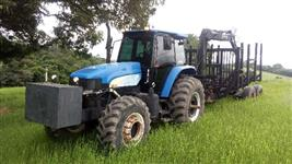Trator Auto Carregável Florestal New Holland TM 7010