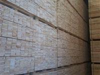 Madeira Pinus serrado e seco em estufa para exportação