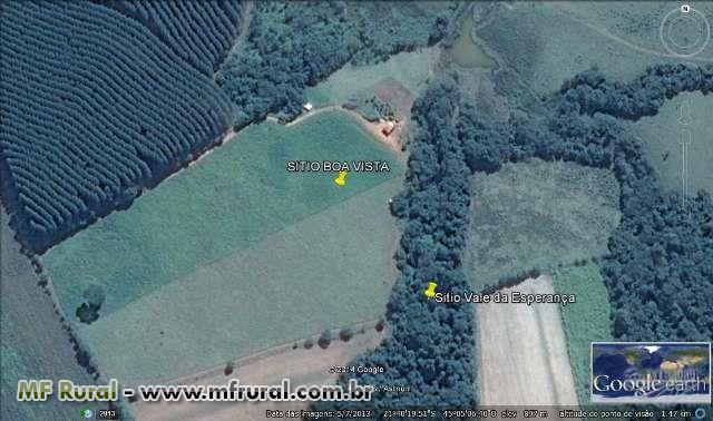 Sitio aproximadamente 2,5 alqueires Rodovia Lmg 862 Km 17 Partindo De Três Corações Mg