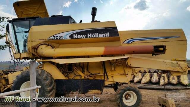 Colheitadeira new holland TC 55
