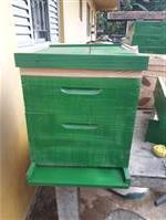 Caixas para abelhas.