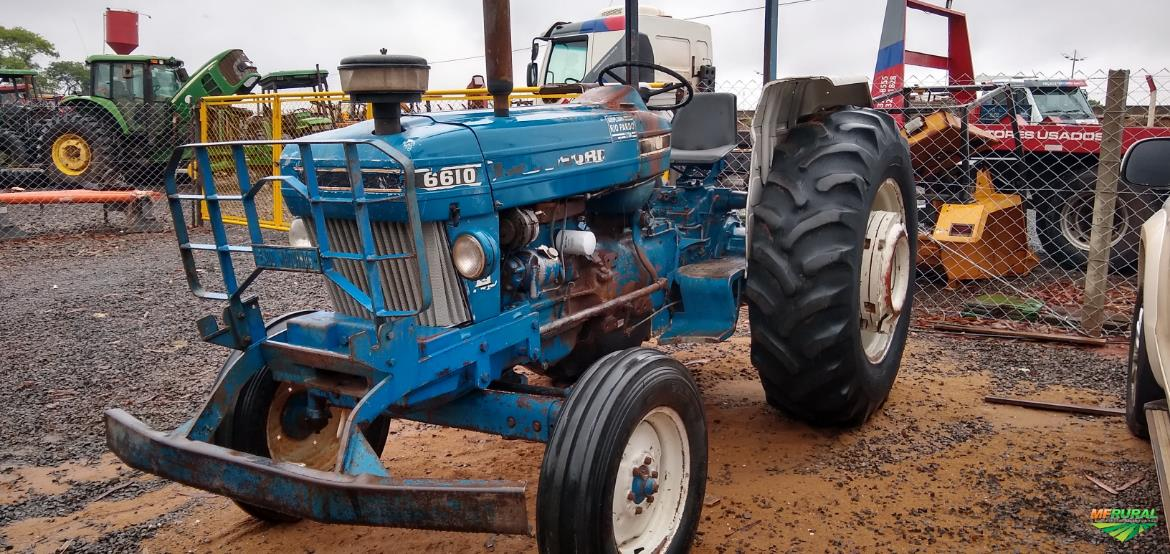 Trator Ford 6610 4x2 ano 88
