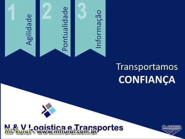 TRANSPORTE ESPECIALIZADOS EM ALIMENTOS E PRODUTOS AGRÍCOLAS