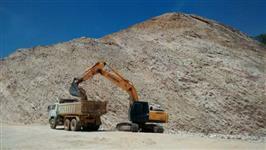 mineradora produtora de areia artificial completa com todos os equipamentos de britagem moagem e veí