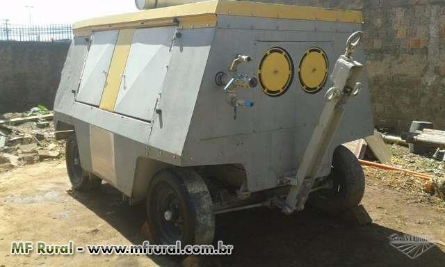 Compressor 750 pcm a Diesel 7 a 9 bar