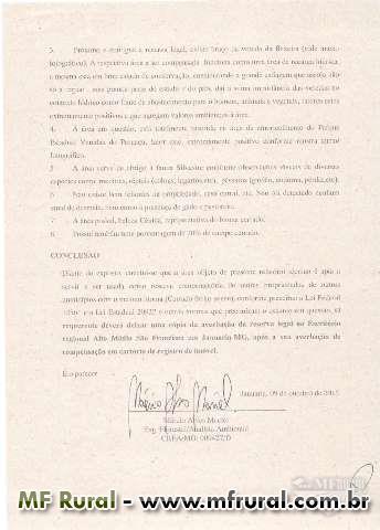 Área de Reserva Legal/Compensação em todo o país/Bioma Cerrado/Laudo IEF/ANEXO3/CAR