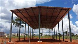 Galpão com projeto estrutural grátis