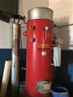 Caldeira semi nova de 200 kg hora de vapor
