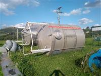 Reservatorio em inox 22.000 litros em com agitador