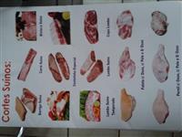 Carnes Suínas e Miúdos + Linguiças e Defumados Diversos