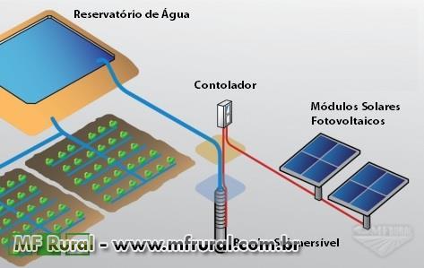 Sistema de Bombeamento Solar para Poços e Reservatórios