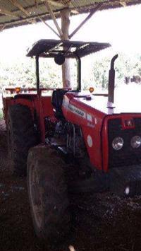 Trator Massey Ferguson 265 4x4 ano 11