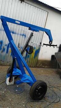 Guincho Hidraulico(Big Bag) 800 kg com Roda