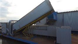 Tombador de Grãos Plataforma de Descarga Traseira 26 metros