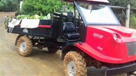 Trator Transportador Agrícola 4x4 Bravo Motor Yammar 44 cavalos