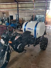Moto Pulverizador 240 litros