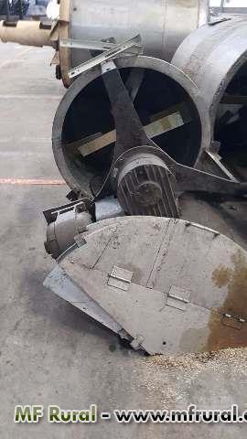 Tanque de Inox com motor e redutor de 750 litros Niro Atomizer