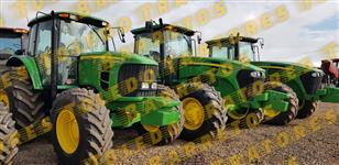 Trator John Deere 6165 4x4 ano 10