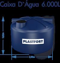 venda caixa dagua plastfort 5.000 l  com base em teresina