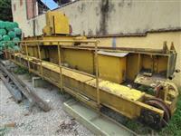 Ponte rolante com capacidade de 15 Ton. Munck