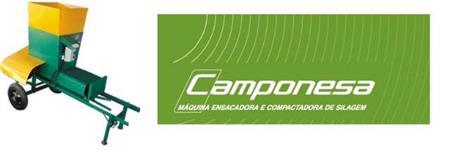 Máquina de Empacotar e Compactar Silagem - CAMPONESA