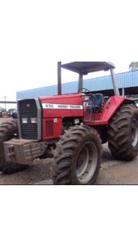 Trator Massey Ferguson 630 4x4 ano 01