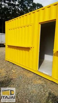 CONTAINER MODIFICADO PARA LANCHONETE