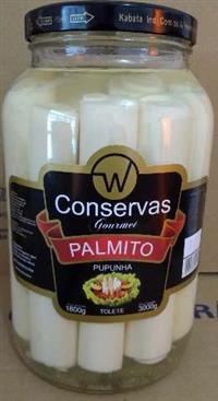Palmitos Pupunha W Conservas