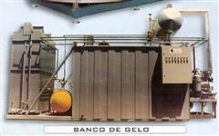 MÁQUINA DE GELO ESCAMA-TUBO / BANCO DE GELO - TANQUE ÁGUA GELADA / CÂMARA FRIA