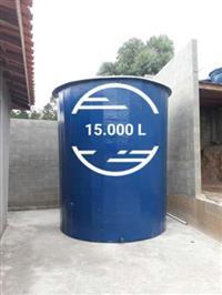 Reservatório para água em fibra de vidro