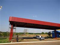 Estrutura Metalica Barracão