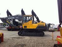 Escavadeira Hidráulica Volvo EC 250 Usada Florestal