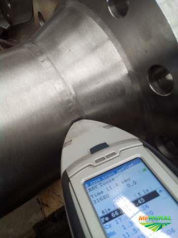 Análise de Minérios / Solos / Resíduos Industriais / Ligas Inox / Metais Preciosos