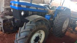 Trator New Holland 7630 4x4 ano 06