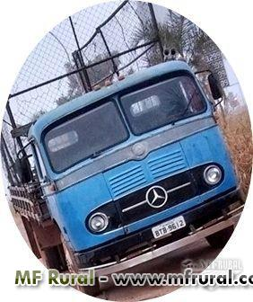 Caminhão Mercedes Benz (MB) MB321 ano 63