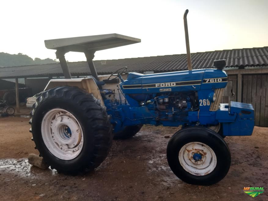 Trator Ford 7610 4x2 ano 88