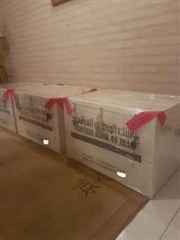 Caixa de dinares com SKR custodiadas na Uniexpress a 10 mm dólares