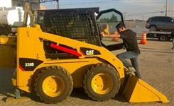 Mini Carregadeira Caterpillar 226B 2014