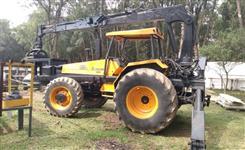 Conjunto Auto Carregável Valmet 1280 4x4 com baldeadeira TMO e Munck Engesa CF 6600 ano 91