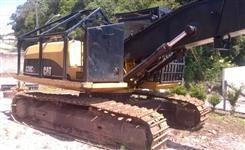 Escavadeira Caterpillar 320CL ano 2004 com cabeçote Waratah ano 2009