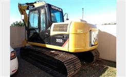 Escavadeira Caterpillar 312DL ano 2008