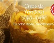 Salgadinhos chips de mandioca