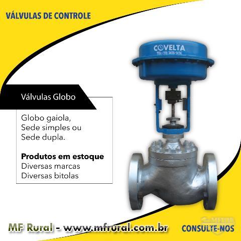 Válvulas de Controle e Equipamentos
