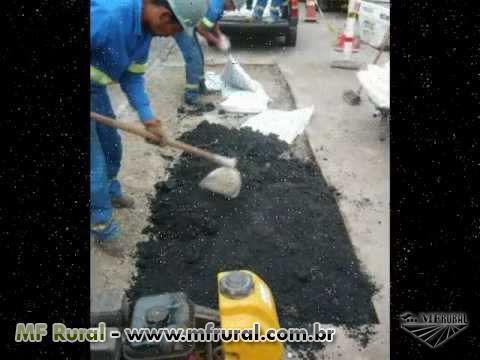 asfalto Reparador CBUQ Aditivado