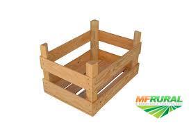 Caixote de madeira de altíssima qualidade!