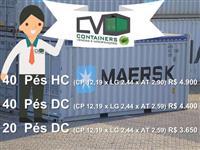 Containers 40 pés em Pormoção