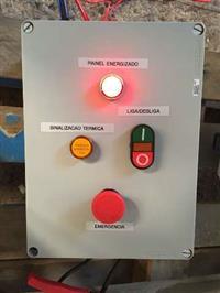 Painel elétrico para equipamentos