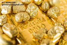Compro ouro AU para exportação