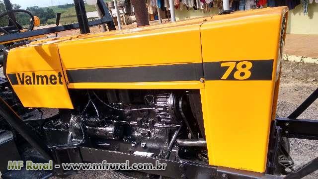 Trator Valtra/Valmet 78 4x2 ano 87